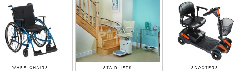 WHEELCHAIRS franchise STAIRLIFTS SCOOTERS