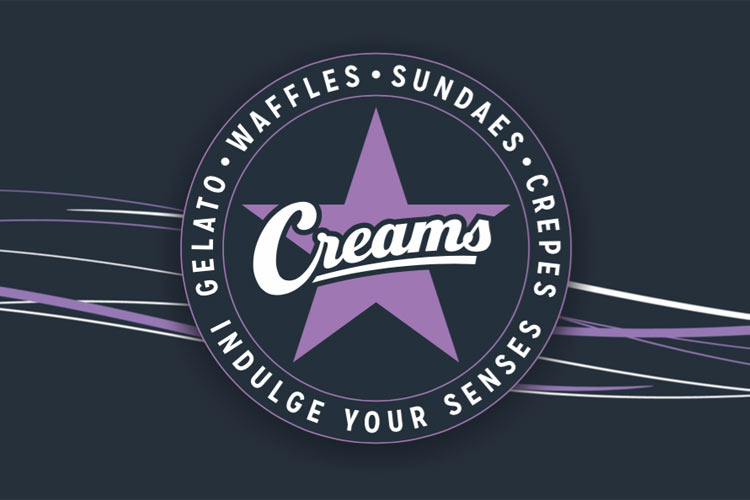 Creams cafe franchise information