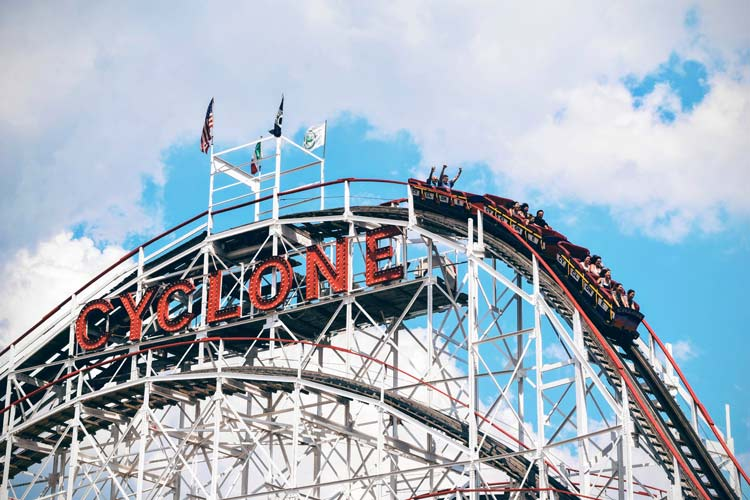 Rollercoaster ride of franchising