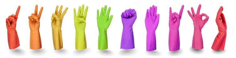 bright & beautiful franchise gloves