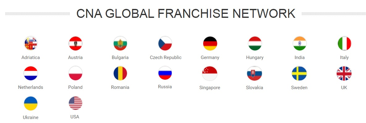 CNA International franchise network