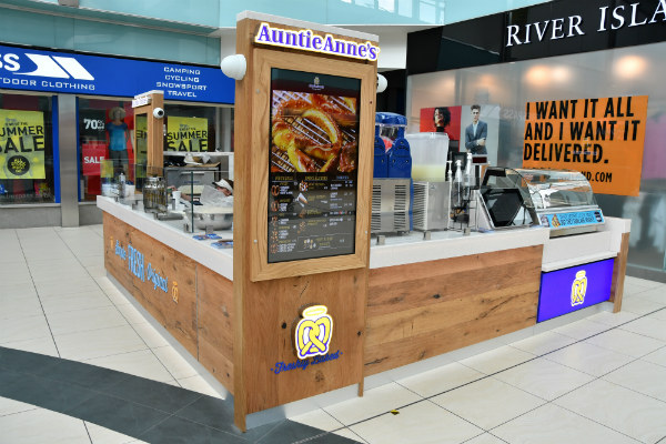 Auntie Anne's franchise outlet