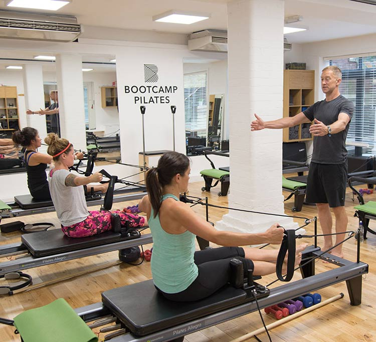 Bootcamp pilates franchise studio
