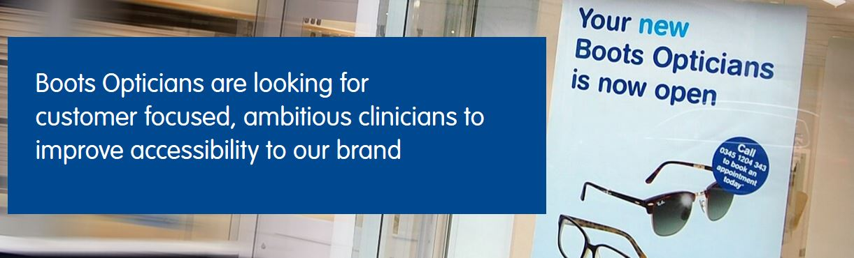 Boots Opticians Franchise looking for candidates