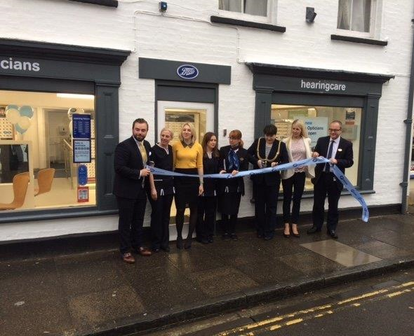 Boots Opticians Franchise opening of a shop Wells