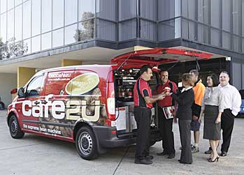 Cafe2U franchise coffee