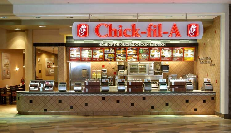 Chick-Fil-A franchise restaurant