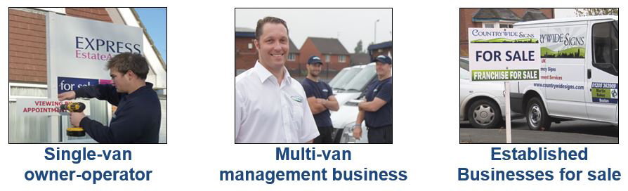 Countrywide signs franchise van based
