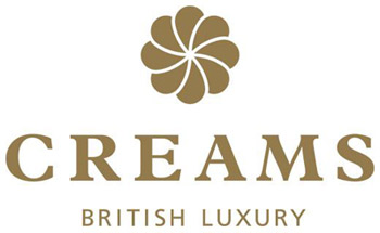 CREAMS British Luxury Franchise logo