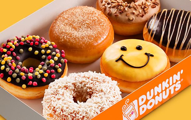 Dunkin Donuts Franchise Box of Donuts