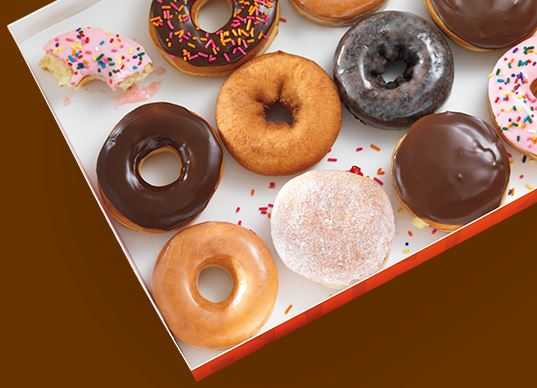 Dunkin Donuts Franchise Box of Donuts 2