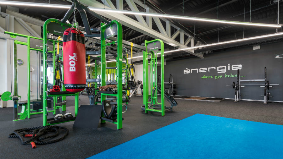 energie fitness franchise citywest gym equipment