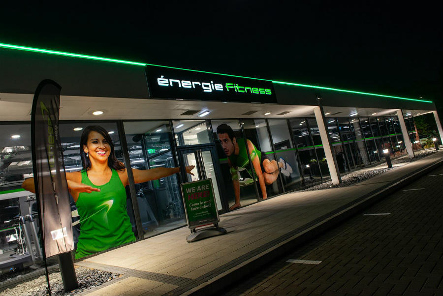 energie fitness franchise milton keynes store front exterior