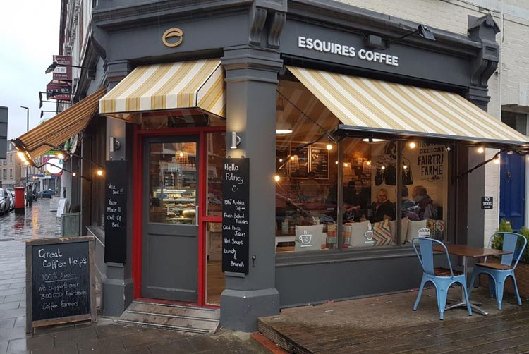 Esquires coffee franchise cafe