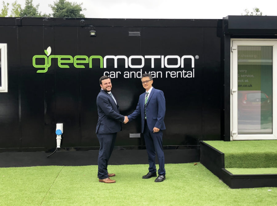 Green motion franchise Liverpool opening