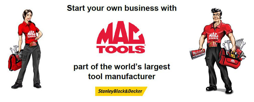Mac Tools franchise header