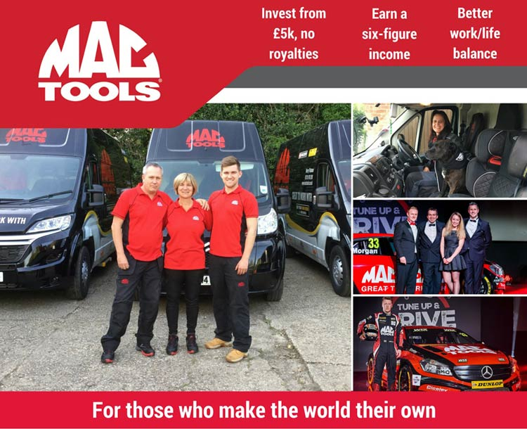 Mac Tools franchise information