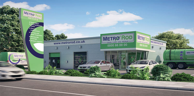 Metrorod franchise retail unit