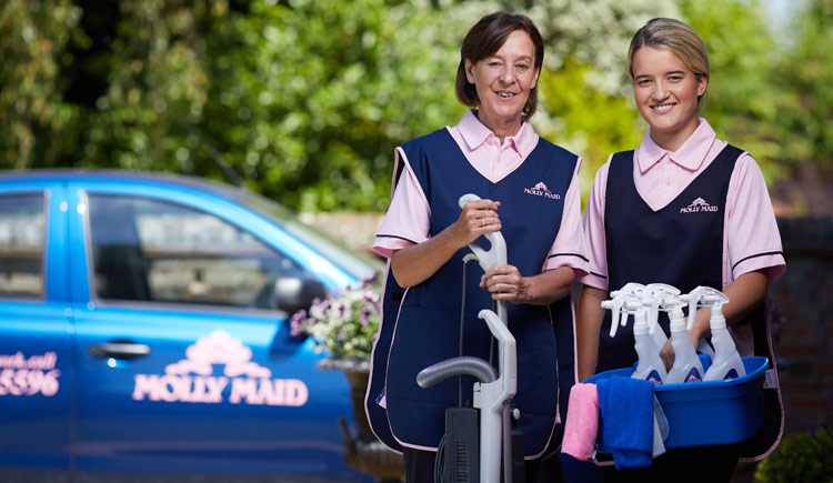 Molly Maid cleaning management franchise