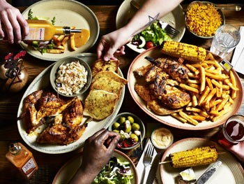 Nandos franchise chicken platter
