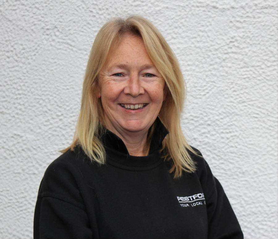 Pestforce franchise headshot of a successful female franchisee