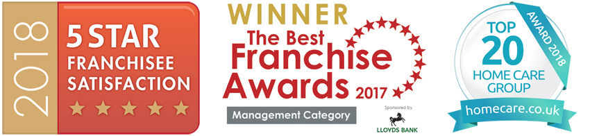 Right at home uk franchise awards