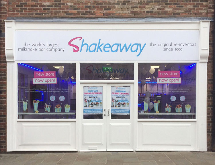 Shakeaway franchise milkshake shop