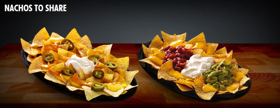 Taco Bell Franchise Nachos to share