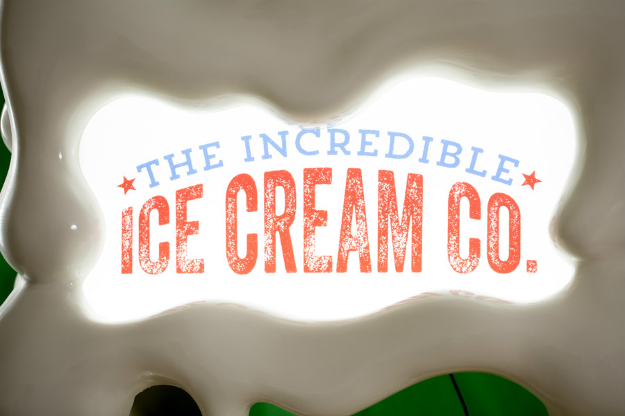 The Incredible Ice Cream Company franchise logo