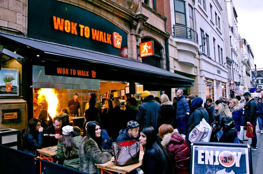 Wok to walk franchise london outlet