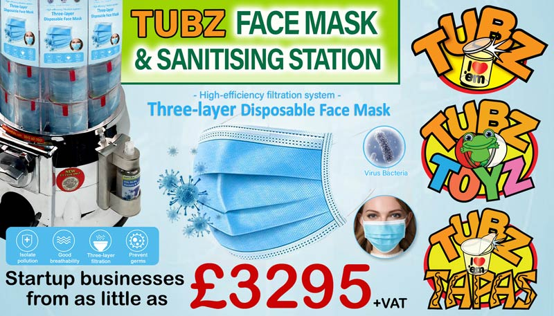 Tubz Franchise featured franchise banner sponsor